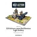 US Airborne 75mm Howitzer & Crew