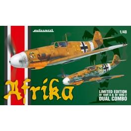 Eduard 11116 Bf 109F & Bf 109G-2 Dual Combo 1/48