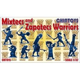 Chintoys 32015 Guerriers Mixtec et Zapotec