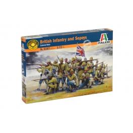 Italeri 6187 Infanterie britannique et Sepoys (guerres coloniales)