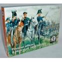 waterloo1815 AP58 Etat-major prussien à cheval
