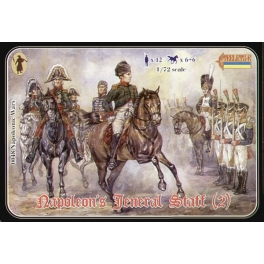 strelets 048 Etat major de Napoléon - Set 2