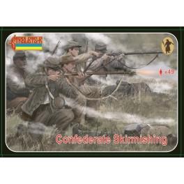 strelets 158 Confédérés en escarmouche