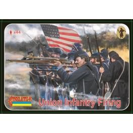 strelets 159 Infanterie de l'Union faisant feu