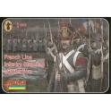 strelets 184 Infanterie de ligne française au garde à vous