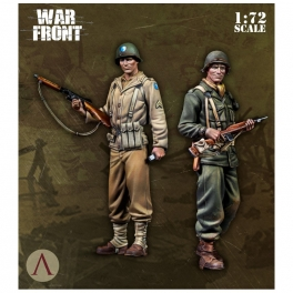 Scale75 SW-72004 Soldats US Army Théatre européen