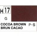 gunze H017 Brun cacao brillant