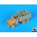 Black dog T72107 M 35 Gun Truck conversion set