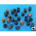 Black dog T72025 Barrels accessories set