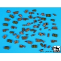 Black dog T72057 Tentage + bedrols accessories - set 3