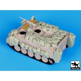Black dog T72072 IDF M113 with sandbags conversion set