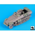 Black dog T72077 Sd.Kfz.251 accessories set