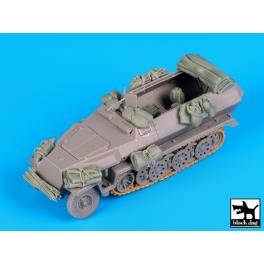 Black dog T72077 Sd.Kfz.251 accessories set