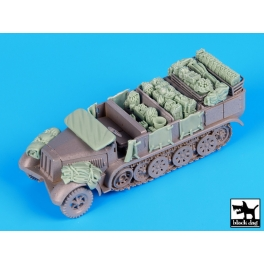 Black dog T72078 Sd.Kfz 7 accessories set