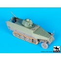 Black dog T72093 Sd.Kfz.251 ausf D with Hotchkiss turret conv.set