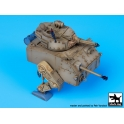 Black dog SFT72001 XP-M4 Sherman army vers Little John