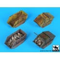 Black dog D72044 Rubble containers