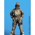 Black dog A48005 German pilot winter WW I
