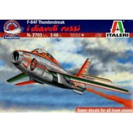 italeri 2703 Republic F-84f  'Diavoli Rossi'