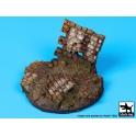 Black dog D35035 Ruined wall base