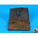 Black dog D35097 German A7V WW II base