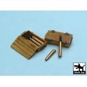 Black dog T48013 Pz.Kpfw IV ammo boxes