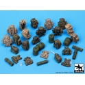 Black dog T35055 German Bundeswehr equipment accessor. Set