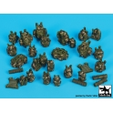 Black dog T35173 French equipment accessories set