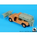 Black dog T35215 Humvee  Snow truck conversion set
