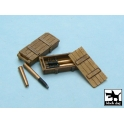Black dog T48014 King Tiger ammo boxes