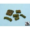 Black dog T48021 Tentage + bedrolls accessories set 4