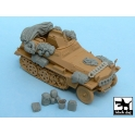 Black dog T48022 Sd.Kfz.250 accessories set