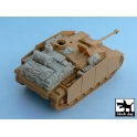 Black dog T48023 Sturmgeschütz III Ausf.G accessories set