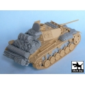 Black dog T48024 Pz.Kpfw.III Ausf L accessories set