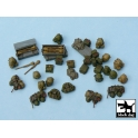 Black dog T48025 German equipment accessories set