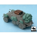 Black dog T48028 Sd.Kfz. 222 accessories set