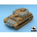 Black dog T48029 Pz.Kpfw. IV Ausf J accessories set