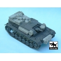 Black dog T48030 Sturmgeschütz III Ausf.B accessories set
