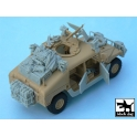 Black dog T48034 HUMVEE Iraq war accessories set