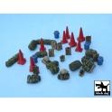 Black dog T48037 US modern equipment accessories - set 3