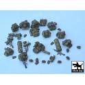 Black dog T48038 US modern equipment accessories - set 4