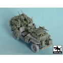 Black dog T48043 British SAS Jeep north Africa 1942