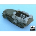 Black dog T48055 Sd.Kfz. 251/1 Ausf.C accessories set