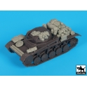 Black dog T48064 Panzerkampfwagen II A\B\C accessories set