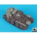 Black dog T48066 German panzer 38t ausf E\F accessories set