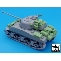 Black dog T35029 British Sherman Firefly accessories set