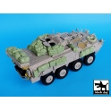 Black dog T35033 Canadian Lav III accessories set