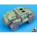 Black dog T35061 Dingo Mk III Scout car accessories set