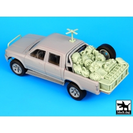 Black dog T35066 Pick-up US special forces accessories set