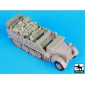 Black dog T35072 Sd.Kfz 8 big accessories set